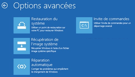 R parer windows 8 avec la console de r cup ration viter - Telecharger console de recuperation windows 7 ...
