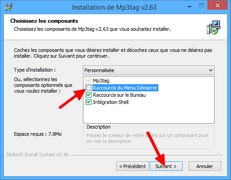 Installation Mp3tag : Composants à installer