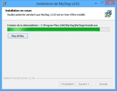 Processus d'installation Mp3tag